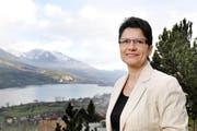 Die FDP-Regierungsratskandidatin Maya Büchi im Februar 2014 bei ihr zu Hause in Sachseln. (Bild: Corinne Glanzmann / Neue OZ)