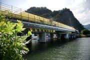 Die Achereggbrücke im Kanton Nidwalden. (Bild: Corinne Glanzmann / Neue NZ)