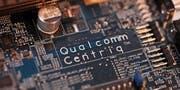 Nahaufnahme eines Serverprozessors von Qualcomm am Mobile World Congress in Barcelona. (Bild: Simon Dawson/Bloomberg (27. Februar 2018))