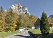 Wird saniert: die Bergstrasse in Schwyz. (Bild: Google Maps)