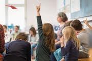 Die integrative Schule ist eines der grossen Projekte, welche die Bildungslandschaft beschäftigen. (Bild: Gaetan Bally/Keystone)