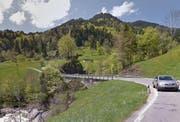 Die Chrutacherbrücke führt über die Waldemme. (Bild: Google Maps)