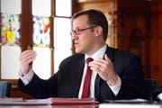 Der Schwyzer Finanzdirektor Kaspar Michel. (Bild: Laura Vercellone/Neue SZ)