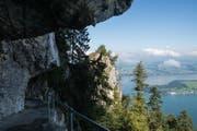Der Felsenweg ist ein beliebtes Ausflugsziel mit einer spektakulären Aussicht. (Bild: PD)