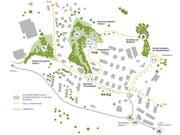 Lageplan des Kneippgartens Gisikon. (Bild: PD)