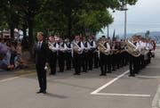 Die BML-Talents bei der Parademusik. (Bild: PD)