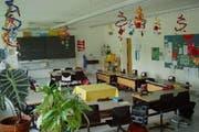 Ein Schulzimmer im Schulhaus Allmend in Horw. (Bild: Screenshot horw.ch)