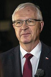 Jiri Drahoš. (Bild: EPA)