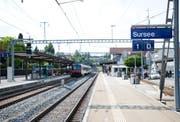 Die Bahnstrecke zwischen Luzern und Olten ist nicht mehr unterbrochen. (Symbolbild LZ)