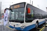 Am 11. Dezember 2016 wird die neue Buslinie 5 in Betrieb genommen. Dazu sind aber noch Arbeiten im Bereich des Pilatusplatzes und der Obergrundstrasse nötig. (Bild: Beatrice Vogel / Neue LZ)