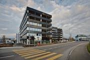 Die Überbauung Buchenhof in Sursee. (Bild: Pius Amrein / Neue LZ)