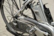 Ein Motor eines E-Bike (Bild: MARTIAL TREZZINI (KEYSTONE))