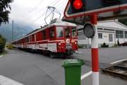 57 Bahnübergänge zwischen Hergiswil und Engelberg müssen bis 2014 entschärft werden. (Bild Luca Wolf/Neue NZ)