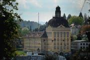 Der Suva-Hauptsitz in Luzern. (Bild: Archiv Neue LZ)
