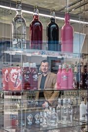 Diwisa-CEO Adrian Affentranger im Verkaufsladen in Willisau. (Bild: Pius Amrein (11. Januar 2018))