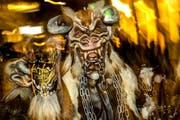 Wildes Sujet am Monstercorso 2017 in Luzern. (Bild: Philipp Schmidli)