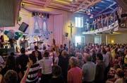 Rund 500 Personen feierten das Jubiläum des Christlichen Zentrums Zollhaus. (Bild: Philipp Schmidli (18. Juni 2017))