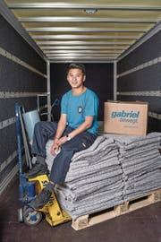 Lobsang Tsephel Norbutsang (23) aus Tibet ist nun Strassentransportpraktiker. (Bild: Boris Bürgisser (Ennetbürgen, 15. Juni 2017))