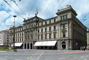 Das Bundesgericht in der Stadt Luzern soll nach Lausanne verlegt werden. (Bild: Keystone)