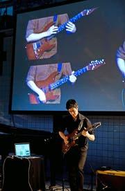 Die Verbindung von Ton und Bildern war einer der vielen Glanzpunkte der New Music Days. (Bild: Corinne Glanzmann)
