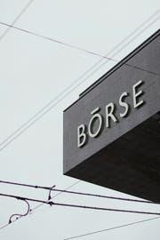 Die Schweizer Börse SIX in Zürich. (Bild: Keystone/Gaetan Bally)
