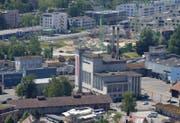 Die Gemeinde Cham sucht nach einer geeigneten Nutzung des Papieri-Areals (Bild). (Bild: Stefan Kaiser / ZZ)