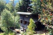 Auch für diese Hütte im Krienser Hochwald musste der Besitzer nachträglich ein Baugesuch einreichen. (Bild: SRF)