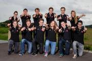 Hoffen auf eine Medaille: Die 12 Zentralschweizer WM-Teilnehmer messen sich in Saõ Paulo mit Berufskollegen aus der ganzen Welt. (Bild: pd)
