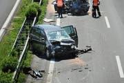 Insgesamt 428 Verkehrsunfälle haben sich im Jahr 2013 im Kanton Uri ereignet. (Symbolbild) (Bild: Archiv Neue LZ)