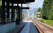 Hier am Bahnhof Cham passierte die Schlägerei. (Bild: Stefan Kaiser)
