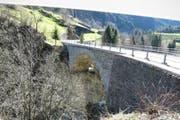 Die Reussbrücke Meitschligen zwischen Amsteg und Gurtnellen. (Bild: PD)