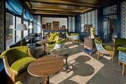 Blick in einen schmucken Salon den neuen «Hotel Château Gütsch». (Bild: Pius Amrein / Neue LZ)