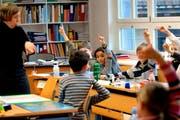 Die Bildungsmöglichkeiten des Kantons Obwalden werden in einer neuen Broschüre zusammengefasst. (Symbolbild Schule) (Bild: Archiv / Neue OZ)