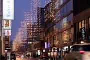Weihnachtsbeleuchtung in der Stadt Zug (Archivbild Werner Schelbert / Neue ZZ)
