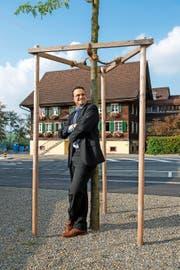 Thomas Schärli vor dem Littauer «Ochsen».