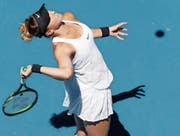 Belinda Bencic konnte der Thailänderin Kumkhum ihr Spiel nie aufzwingen. (Bild: Mast Irham/Keystone (Melbourne, 17. Januar 2018))