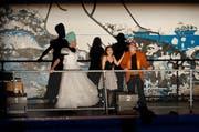 Im Neubad werden verschiedenste Events und Vorstellungen durchgeführt, wie beispielsweise die Oper Alice im Wunderland. (Bild: Boris Bürgisser / LZ (Luzern, 27. Februar 2016))