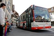 Für den Kanton Schwyz, insbesondere Innerschwyz, sind 2017 einige Anpassungen im Fahrplan vorgesehen. (Symbolbild) (Bild: Chris Iseli / Neue LZ)