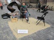 Andreas Liebmann (43) sucht Geschichten auf der Strasse. (Bild: PD)