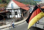 Ein Stück Schwarzwald in Venezuela: die Hauptstrasse der Colonia Tovar. (Bild: Chico Sanchez/Keystone (Colonia Tovar, 24. September 2004))