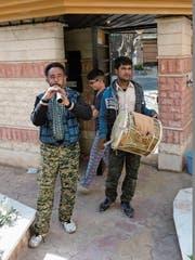 Die iranische Version der Sternsinger, welche musizierend von Tür zur Tür ziehen. (Bild: Haymo Empl (Dezember 2017))