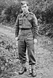 Fritz Lustig, 1940 in britischer Uniform. (Bild: PD)
