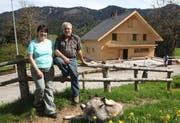 Monika und Xaver Merz wirten schon seit vielen Jahren in der Sonnegg. (Bild Christof Borner-Keller/Neue ZZ)