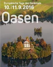 An den Tagen des Denkmals können in der ganzen Zentralschweiz kulturelle Oasen besucht werden. (Bild: pd)