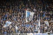 FCL-Fans machen Stimmung im Stadion. (Archivbild LZ)