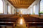 Blick in die Kirche von Hüswil. (Bild Philipp Schmidli)