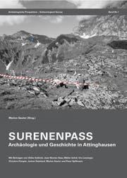 Das Buchcover «Surenenpass. Archäologie und Geschichte in Attinghausen» (Bild PD)