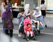 Sie haben Luzern als Feriendestination entdeckt: Die Zahl der Touristen aus Golfstaaten ist in den letzten Monaten stark gestiegen. (Bild: Keystone/Sigi Tischler)