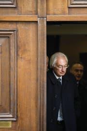 Rolf Erb hätte in diesen Tagen seine Freiheitsstrafe antreten müssen. (Bild: Ennio Leanza/Keystone (Zürich, 15. Januar 2014))