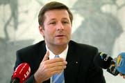 Marcel Schwerzmann, Finandirektor des Kantons Luzern. (Bild Daniel Auf der Mauer/Neue LZ)